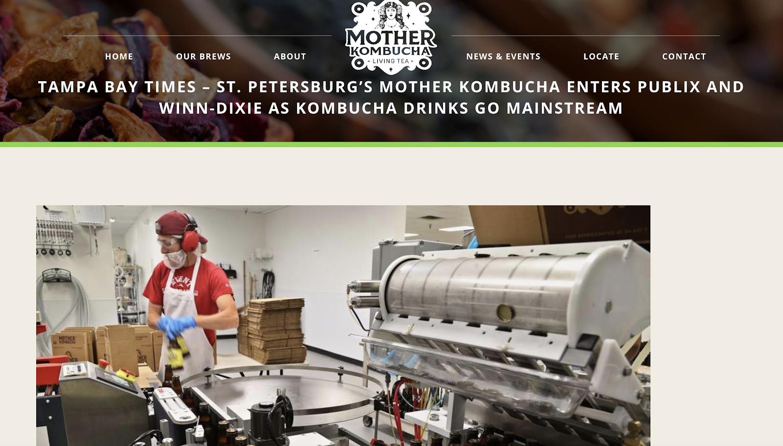 Mother Kombucha New Store