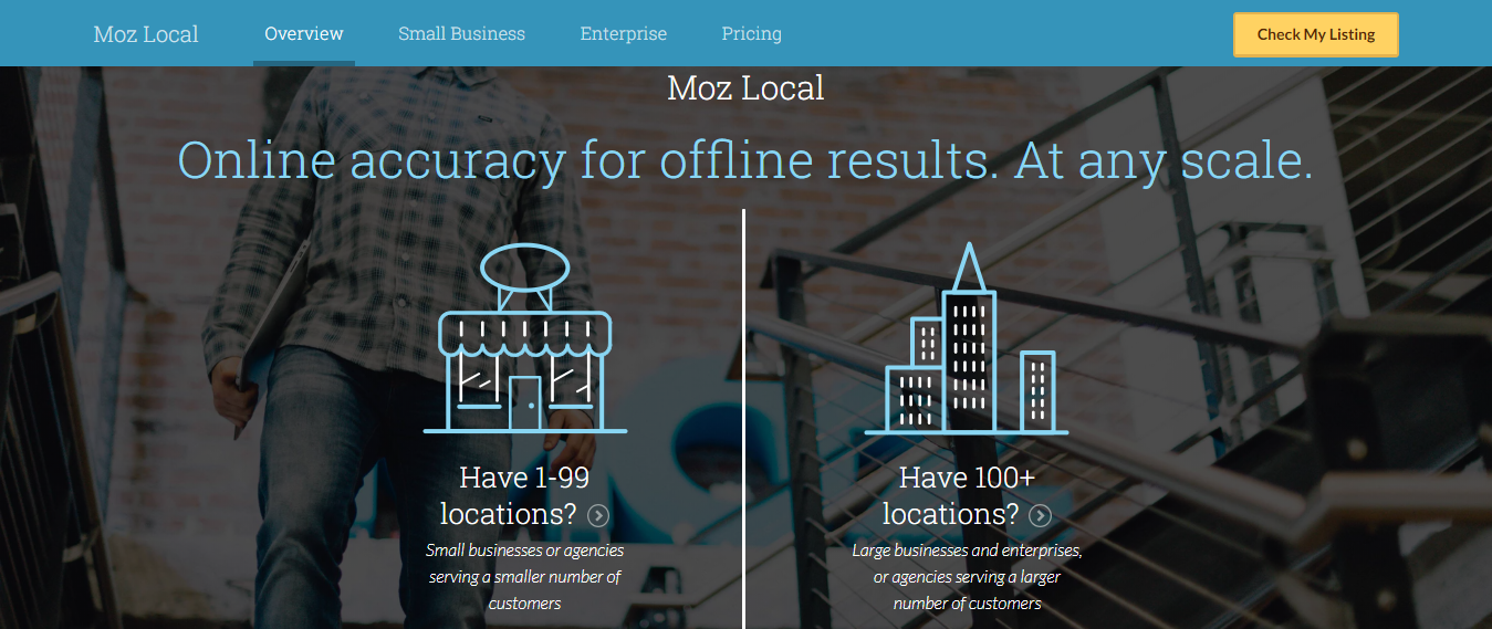 Local SEO Tools - Moz Local