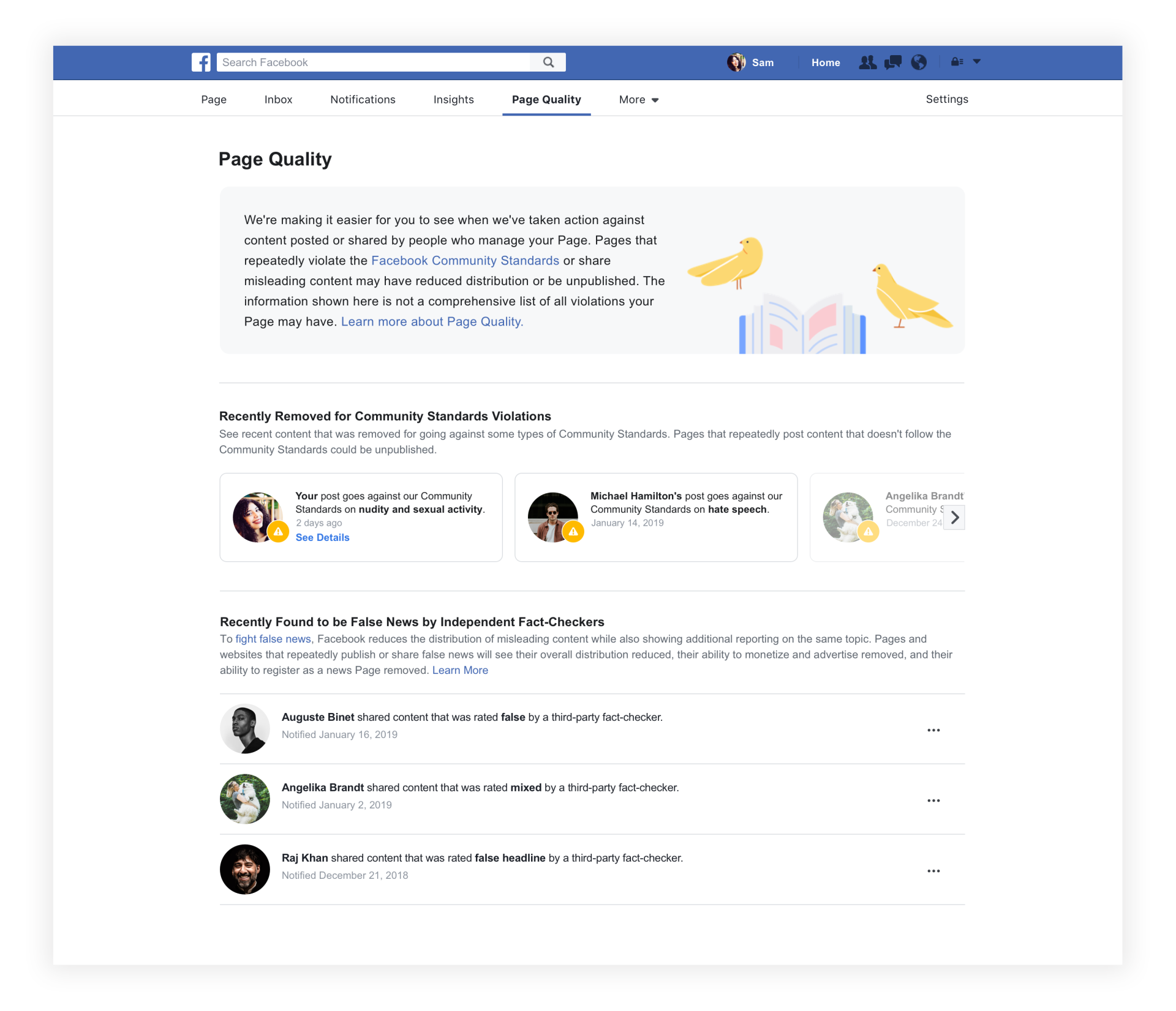 Facebook to Remove Pages and Groups Affiliated With Bad Actors