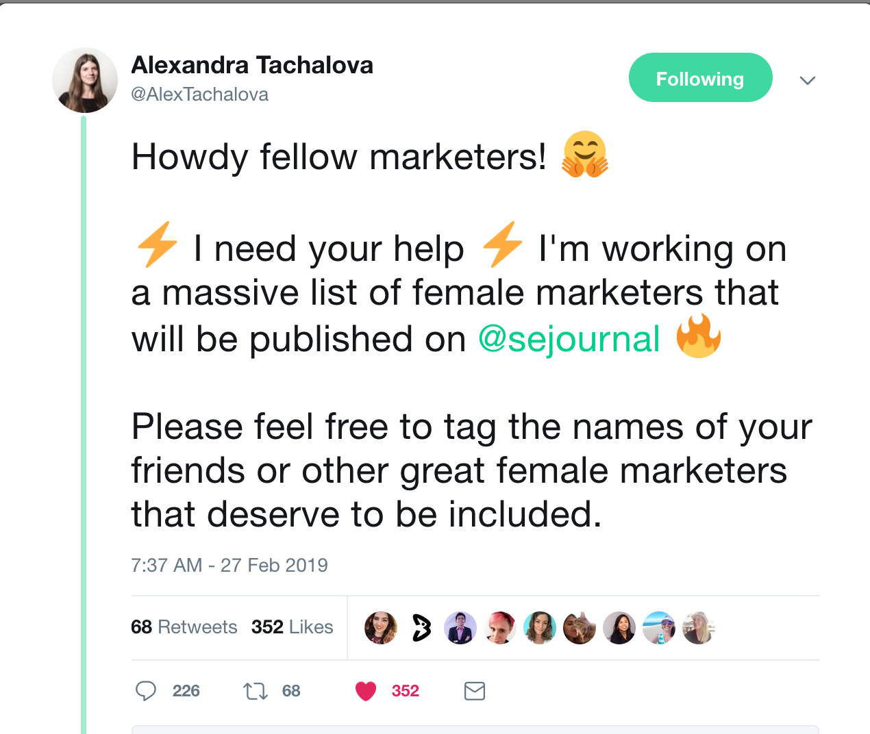 100+ Awesome Women Marketers You Should Follow