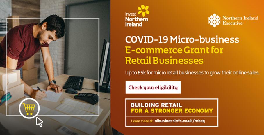 E Commerce Grant Northern Ireland Covid Grant Government Grant Invest NI
