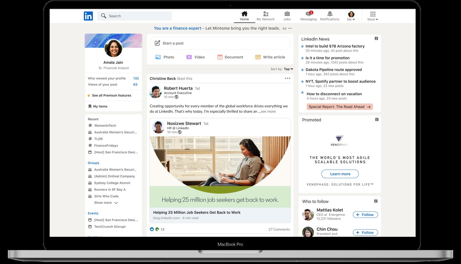 LinkedIn Marketing - VINDICTA Digital